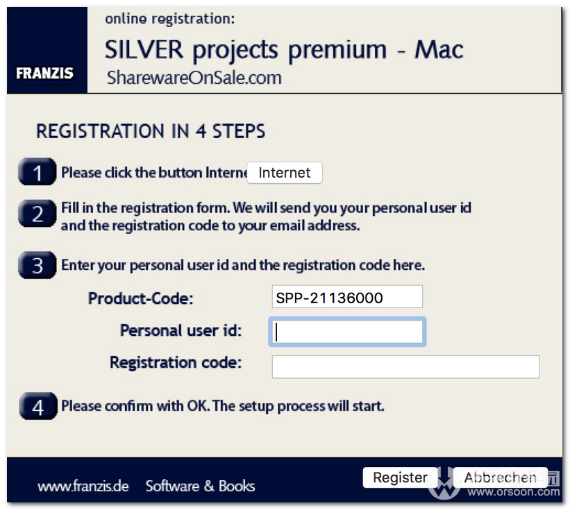 SILVER Projects Premium for Mac (黑白图片滤镜软件)
