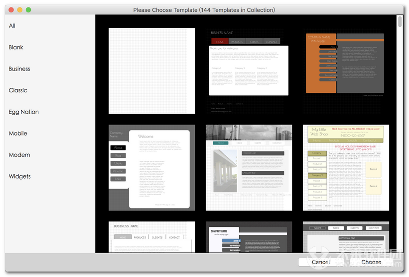 HTML Egg Classic Edition for Mac
