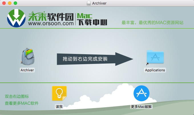 Archiver for Mac(压缩解压工具)